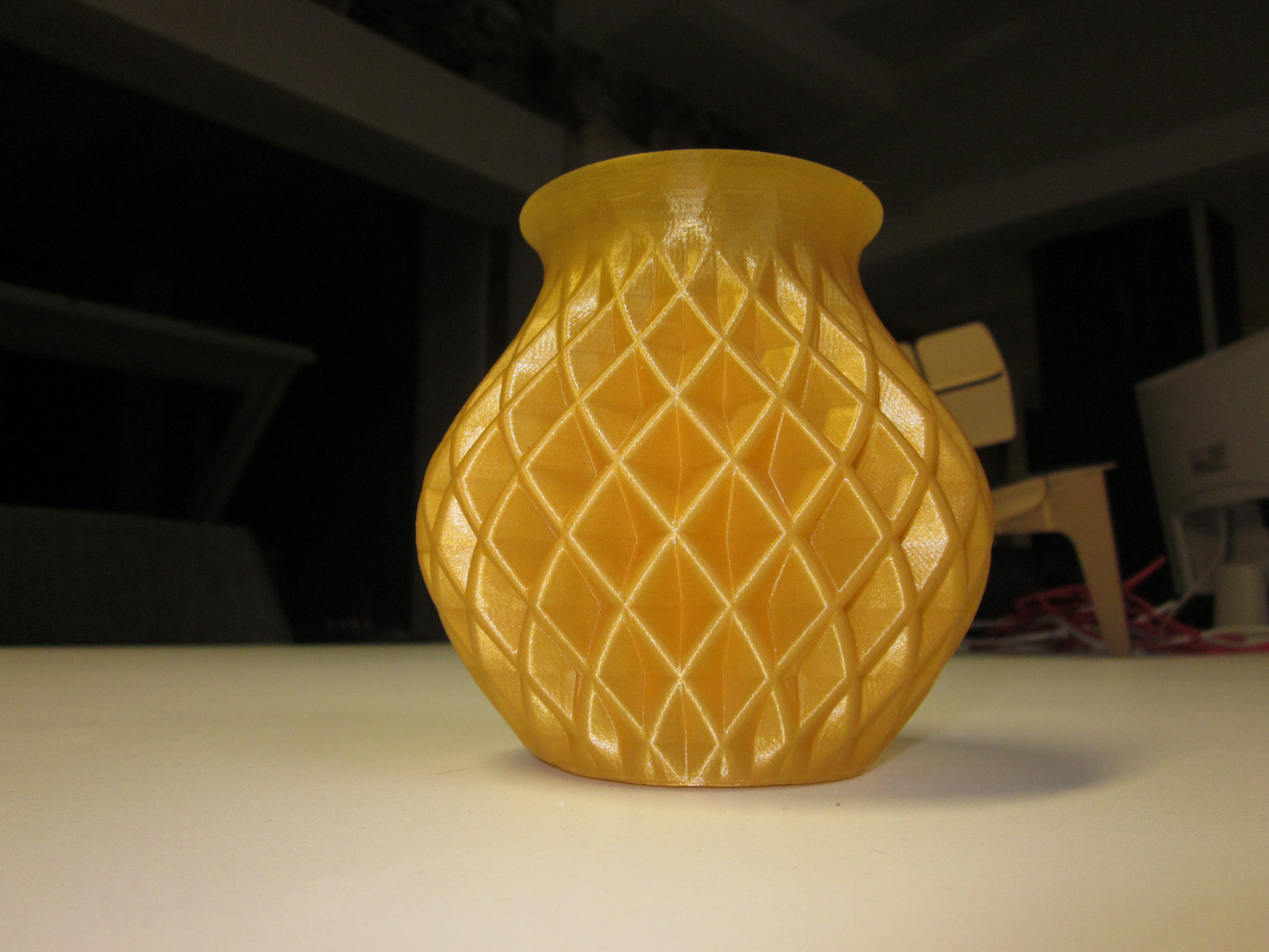yellow pottery vase of double twisted vase by fablabmaastricht thingiverse intended for by fablabmaastricht dec 10 2012 view original