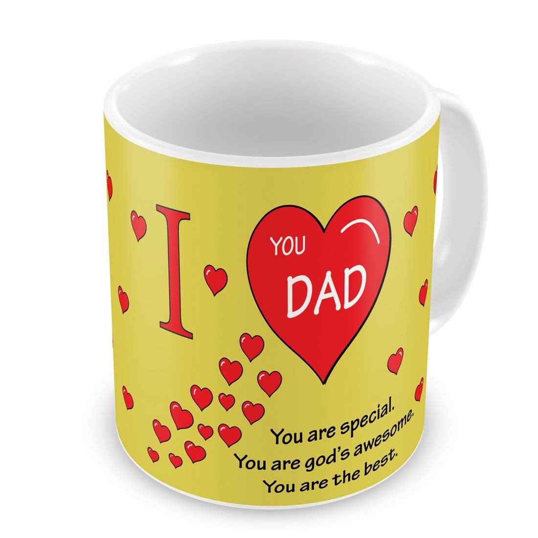 yellow smiley face vase of buy indigifts father birthday gifts i love you dad beautiful coffee within buy indigifts father birthday gifts i love you dad beautiful coffee mug 330 ml pink best dad papa birthday gifts fathers day gifts parents anniversary
