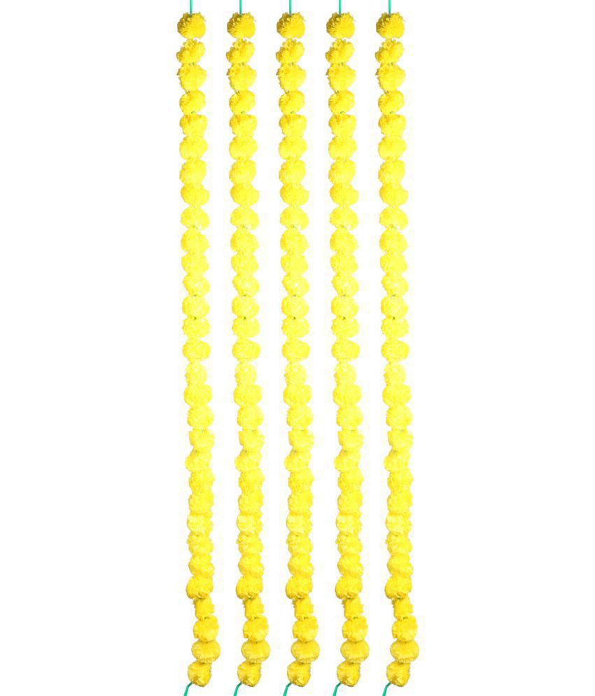 yellow vases for sale of jkm marigold yellow garland pack of 5 buy jkm marigold yellow inside jkm marigold yellow garland pack of 5