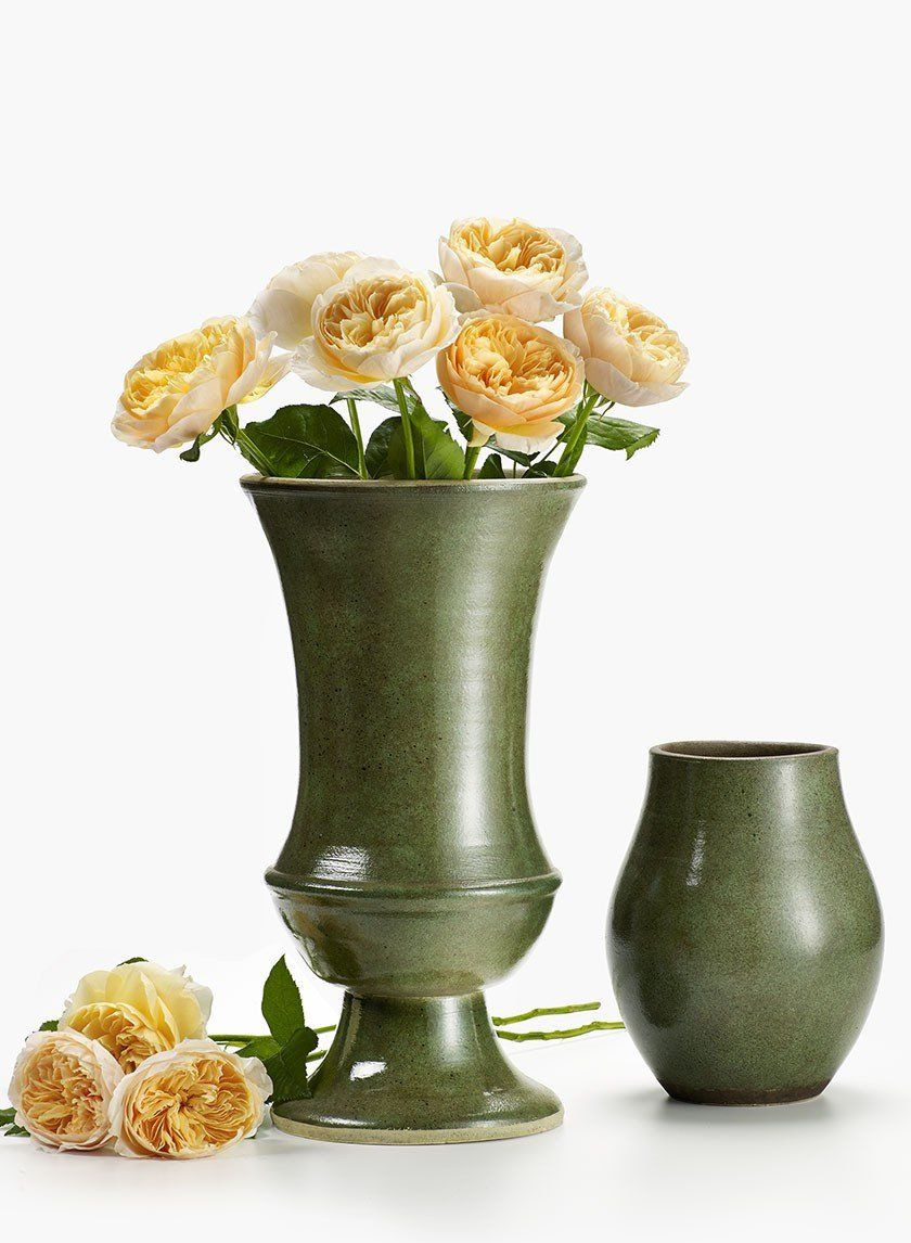 z gallerie gold vase of batik green earthenware vase urn earthenware and urn inside batik green earthenware vase urn