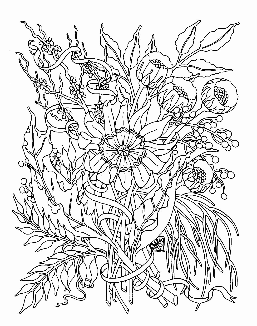 zebra print vase of plant coloring pages vases flowers in vase coloring pages a flower throughout plant coloring pages plex coloring pages